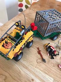 Playmobil amphibian vehicle 4175