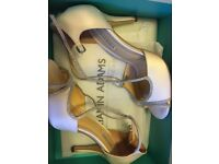 "Benjamin Adams ""Maise"" Wedding Shoes Size 5"