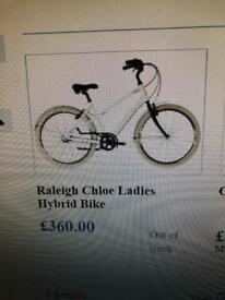 Raleigh Chloe Hybrid Bike 16""