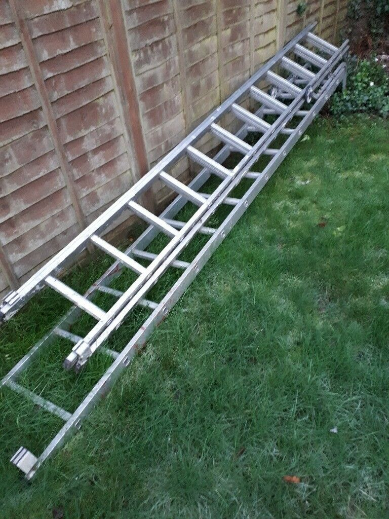 Roof Ladder and double extending ladder | in Bures, Essex ...