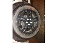 "17"" Subaru wrx sti wheels alloys 5x100"