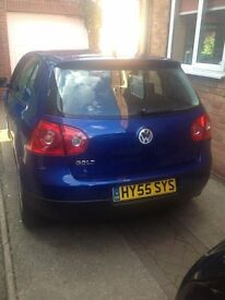 Volkswagen GOLF 1.4 S (80) - 2005 (55 Reg) Metallic Blue 5 DOOR - 82,000 MILES - LOVELY EXAMPLE