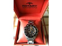 Rotary Aquaspeed Gents Watch - Used & Boxed
