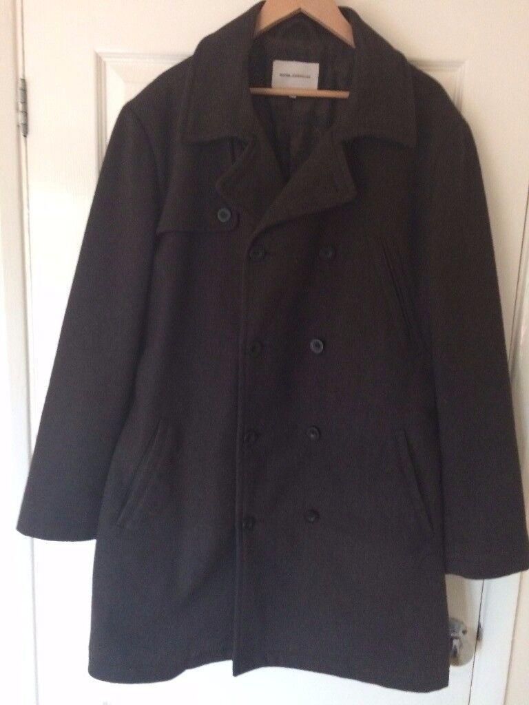 Designer men's Winter Coat Rocha John Rocha, Size L