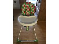 Baby Mothercare highchair