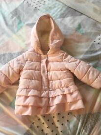 Baby pink gap jacket