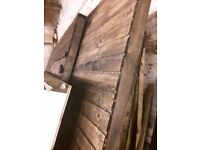 24x12 garage workshop shed heavy duty twin doors ,service door , windows