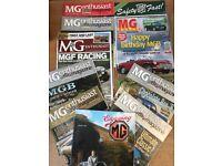 135 MG Car magazines
