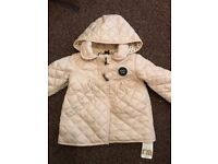 Baby coat and pram suit 9-12 months