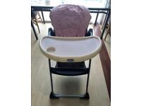 Chicco Highchair High Chair Baby Boy Girl Bundle mothercare mamas and papas