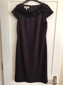 Laura Ashley dress, purple, size 8