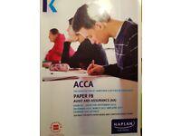 F8 Kaplan & F9 BPP Exam kit