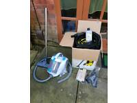 Zanussi and Karcher wet&dry vacuum cleaners