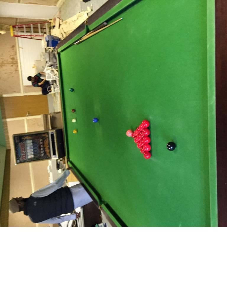 12ft snooker table in bradford west yorkshire gumtree for 12 ft snooker table