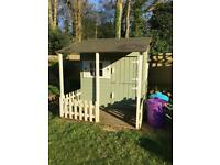 Wooden children's play house