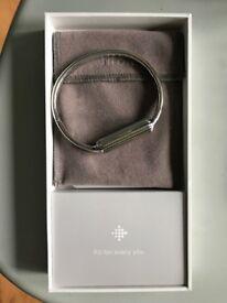 Fitbit Accessory Bangle - Silver for Fitbit Flex 2