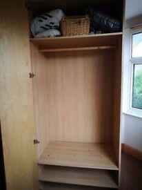 REDUCED - Double Ikea Wardrobe