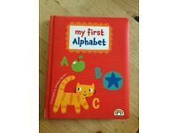 Children's Alphabet game puzzle wooden and book £5