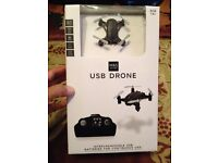 M & S. USB Drone. Boxed and State of the Art Technology. Boxed