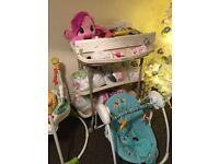 Mamas & Papas changing station with bath