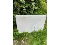 Double panelled radiator - less than 2 years old