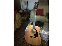 Yamaha FG-401 6 string acoustic guitar
