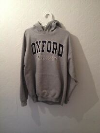 Oxford University hoodie L/comfortable lounge wear