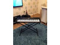 Casio CTK-1150 Keyboard and Stand