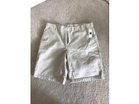 Brand New Ladies UK size 10 Gap boyfriend roll up shorts