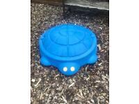 Little Tikes Turtle Sandbox /Toy Storage Box