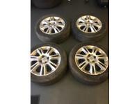 Vauxhall corsa alloy wheels 185/55/r16