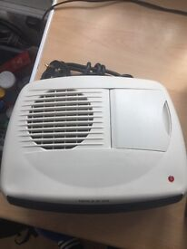 Fan Heater 3kW Flat Fan Heater (No Box Available) COLLECTION ONLY