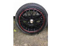 Calibre alloy wheels 195/45/R15