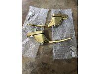 Brass Window Handles lockable