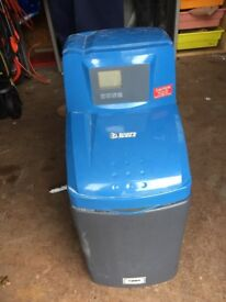 BWT WS355 Used water softener complete with all water connection hoses and electrical connections