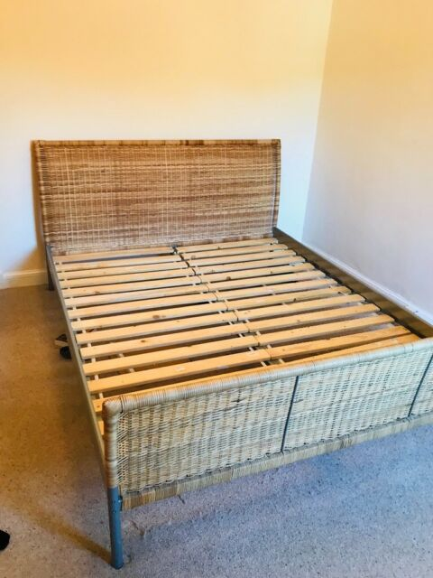 Wicker Ikea Kingsize Bed Frame In West Linton Scottish Borders Gumtree
