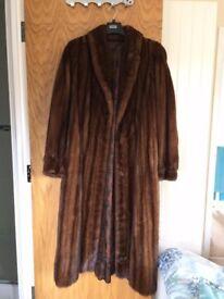 beautiful mink coat (superb condition)
