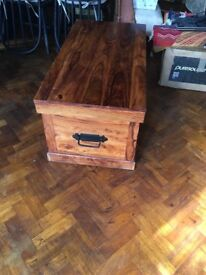 Solid wood storage chest, or coffee table john lewis