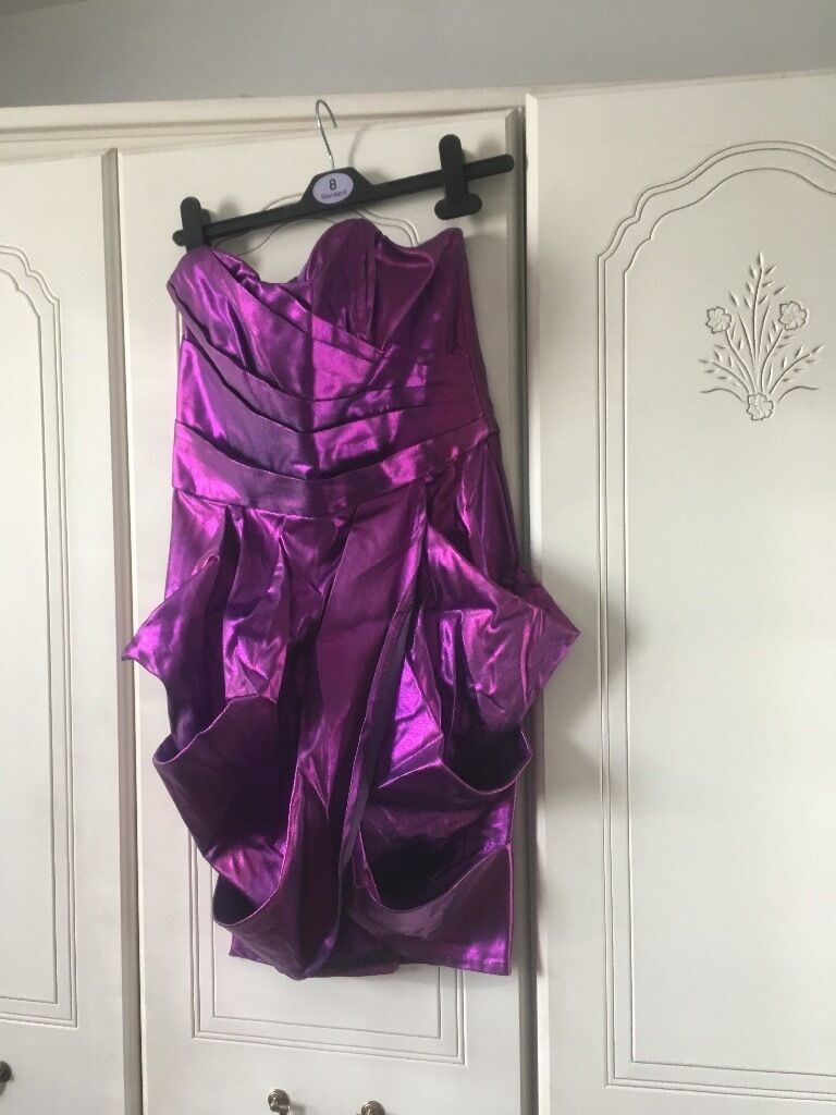 Purple party dress size 8in Wallsend, Tyne and WearGumtree - Beautiful and unusual purple dress , worn once , suit party collection only