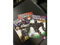 Transformer adventures comic Books v1-3