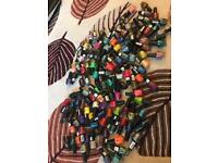 Huge JOBLOT of W7 nail polishes various effects/colours