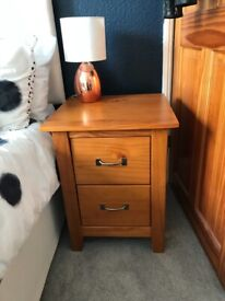 Bedside and Chest of Drawers