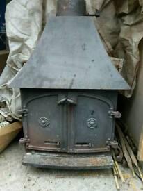 Villager wood burner woodburning stove