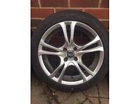 "ACE Manta 16"" alloy wheels with Dunlop SportMaxx RT 205/45 W Tyres"