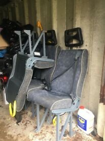 Sprinter 2005 Seats with belts