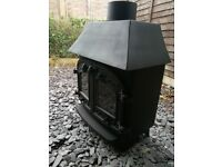 Villager 8kw wood burner,log burner,woodburning stove