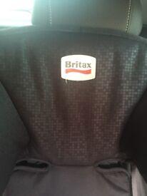 Reclining britax car seat