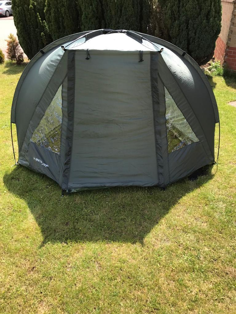 Small Fishing Shelters : Dunlop sport fishing bivvy shelter for carp in