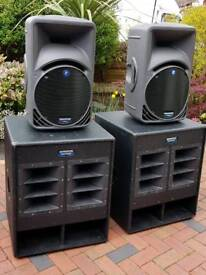 Mackie PA Speakers