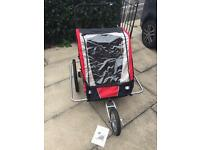 NOW SOLD - 2 in 1 bike trailer and jogger - NOW SOLD